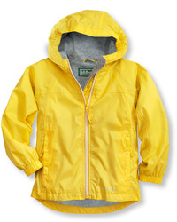 L.L. Bean Kids Discovery Rain Jacket Lined