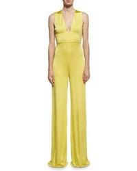 Paloma strappy wide leg jumpsuit medium 4470655