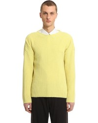 Our Legacy Merino Wool Blend Rib Knit Sweater
