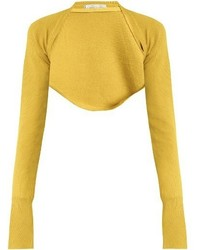 Palmer Harding Palmerharding Open Front Cropped Knit Top