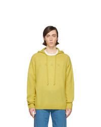 Lanvin Yellow Cashmere Alpaca Hoodie