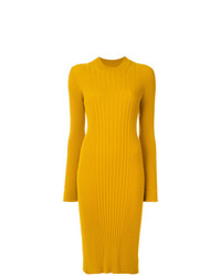 Maison Margiela Ribbed Knit Dress