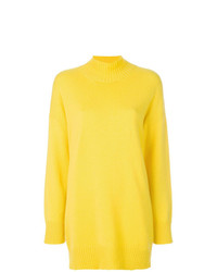 Pringle Of Scotland Roll Neck Oversized Sweater Unavailable