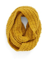 Yellow Knit Scarf