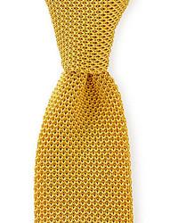 Yellow Knit Tie