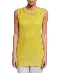 Yellow Knit Tunic