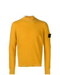 Yellow Knit Turtleneck