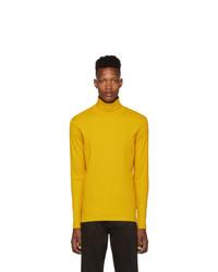 BOSS Yellow Tenore Turtleneck