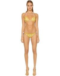 Missoni Two Tone Lace Lurex Bikini