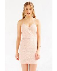 63668850f660 ... Kimchi   Blue Kimchi Blue Scallop Lace Surplice Bodycon Dress ...