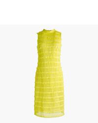 Sheath dress in fringy lace medium 3704512