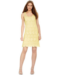Lauren Ralph Lauren Sleeveless Crochet Lace Dress