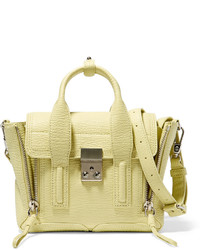 3.1 Phillip Lim The Pashli Mini Textured Leather Trapeze Bag