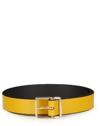 Paul Smith Slim Leather Belt