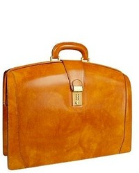 Yellow Leather Briefcase