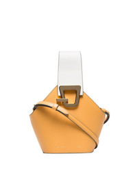 Danse Lente Camel Johnny Mini Leather Bucket Bag