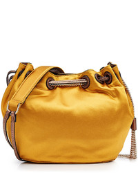 Satin bucket bag medium 808974
