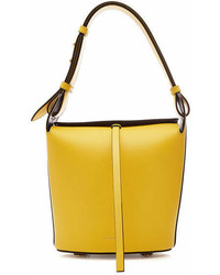 Burberry The Small Bucket Leather Tote