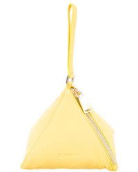 Jil Sander Leather Pyramid Bag