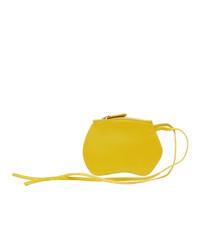 Little Liffner Yellow Mini Pebble Pouch