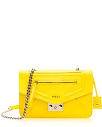 Alice sunny yellow leather crossbody bag medium 196007