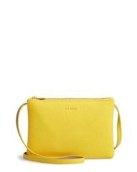 Ted Baker London Cottii Colorblock Leather Shoulder Bag