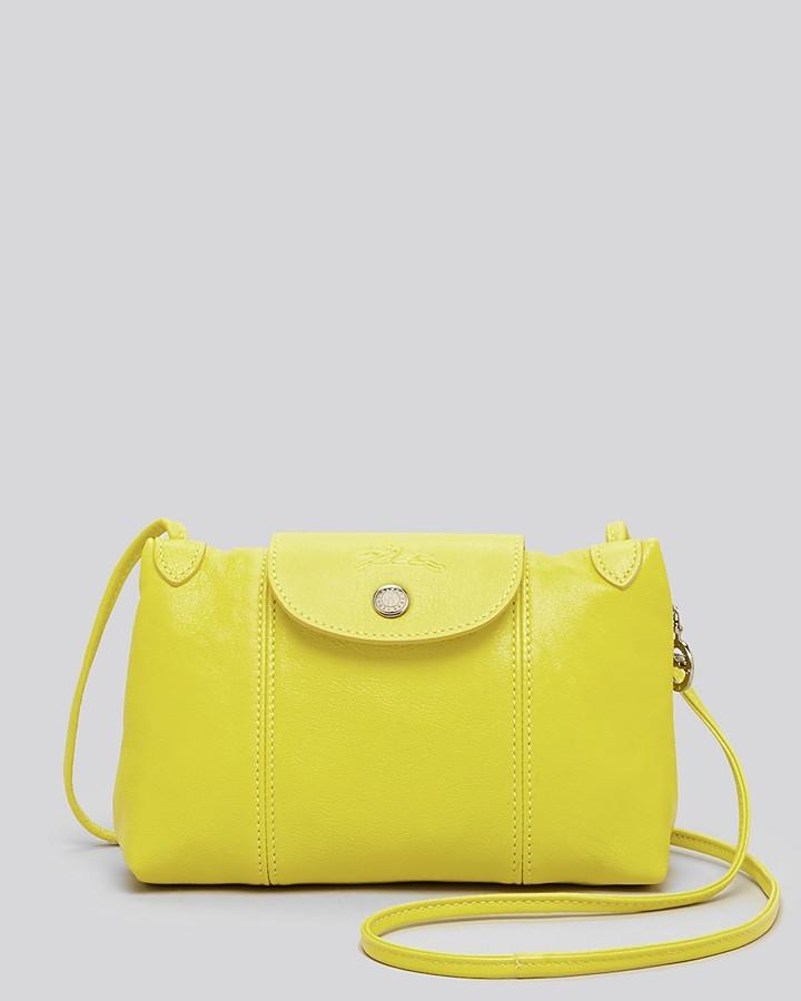 8a7d750d3533 ... Bags Longchamp Crossbody Le Pliage Cuir Small ...