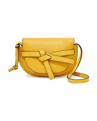Loewe Gate Mini Textured Leather Shoulder Bag