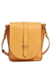 Frye Ilana Leather Crossbody Bag Black