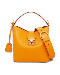 MARK CROSS Murphy Small Textured Leather Shoulder Bag