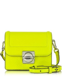 770ba932b29a Marc by Marc Jacobs Top Schooly Jax Safety Yellow Leather Crossbody Bag