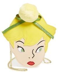 Danielle Nicole X Disney Tinker Bell Faux Leather Crossbody Bag Yellow