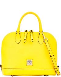 Dooney bourke saffiano zip zip satchel medium 230255