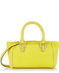 Diane von Furstenberg Sutra Mini Textured Leather Shoulder Bag
