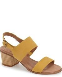 Caslon carden block heel slingback sandal medium 951291