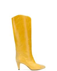 Isabel Marant Stud Embellished Tubular Boots