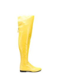 Alberta Ferretti Vinyl Boots