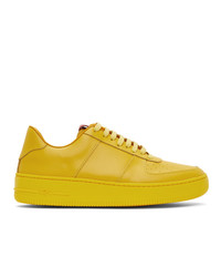 424 Yellow Adidas Originals Edition Low Top Sneakers