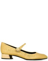 Metallic low heel pumps medium 6376308