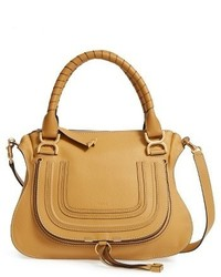 Chloe medium marcie leather satchel medium 3640342