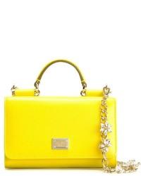 Dolce & Gabbana Mini Von Wallet Cross Body Bag