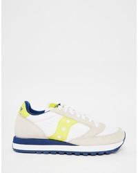 low priced 8e2e8 ff6e8 Saucony Jazz Original White Yellow Sneakers, $106 | Asos ...