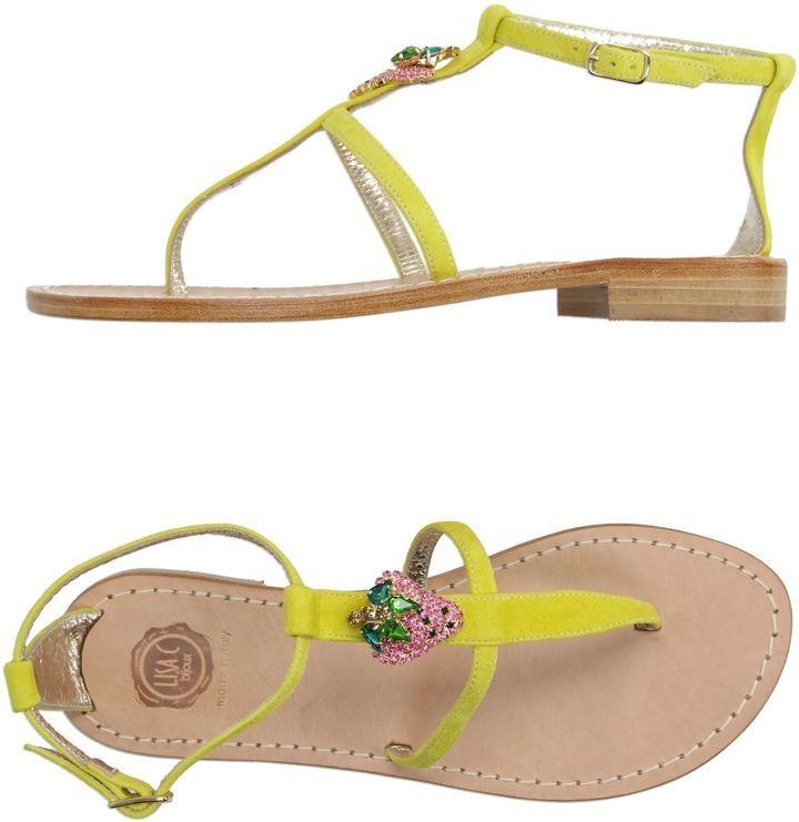 FOOTWEAR - Sandals Lisa C Bijoux b9JRZodN