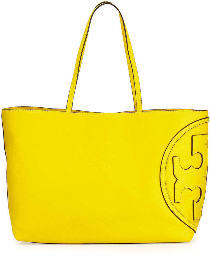 59382862a3 Tory Burch All T East West Tote Bag Reptile Yellow, $475 | Neiman ...