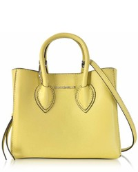Coccinelle Farisa Pebbled Leather Mini Tote Bag