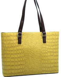 Dasein Fashion Tote Bag 2484 4875 Black Casual Handbags