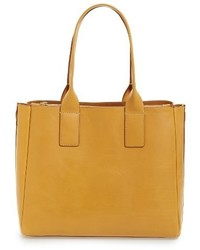 Ilana leather tote beige medium 3679330
