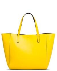 Merona Reversible Tote Faux Leather Handbag