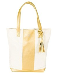 Monogram tote metallic medium 1248678