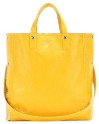 Balenciaga Papier Snap Simple Leather Tote